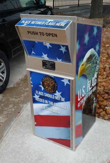 Flag Retirement Dropbox